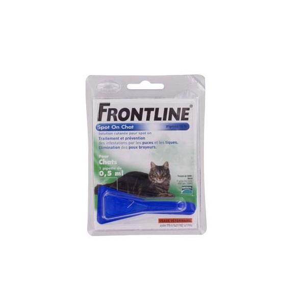 FRONTLINE CHAT 1 PIPETTE FRONTLINE