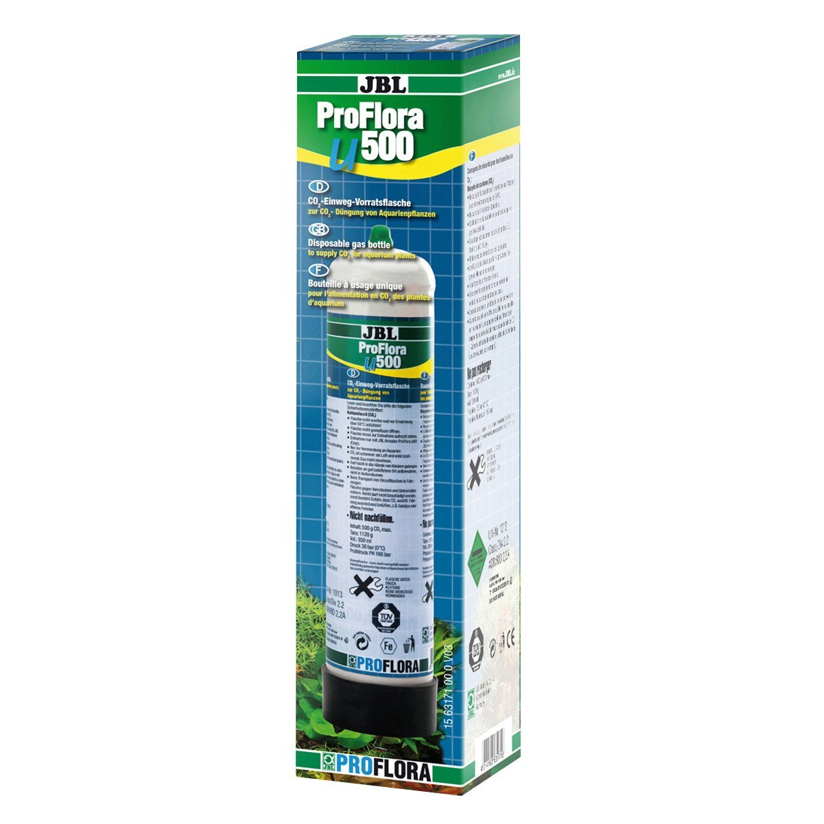 JBL ProFlora u500 (BOUTEILLE CO2 500GR) JBL