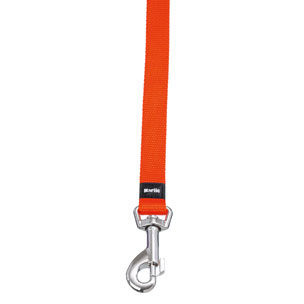 LAISSE ASP ORANGE 100CM 25MM KARLIE