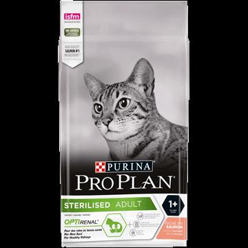 PROPLAN CAT STERILISED SAUMON 10KGS + 2KGS PROPLAN PURINA