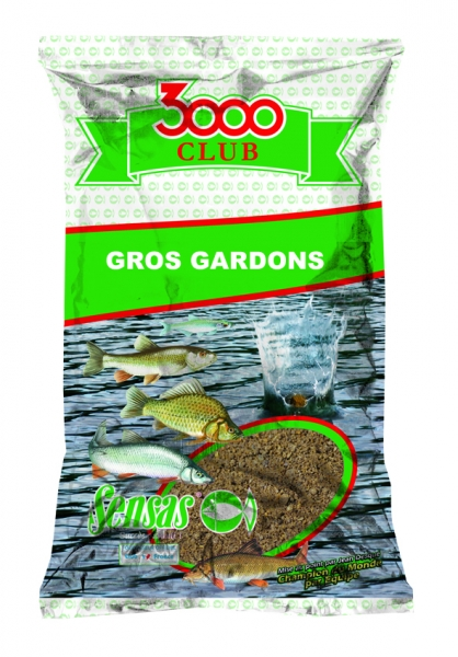 3000 CLUB GROS GARDON 1KG Sensas